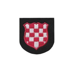 Croatia national patch - woolen - repro