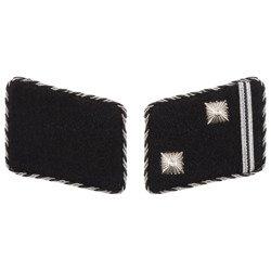 Early SD collar tabs - Hauptscharführer - repro
