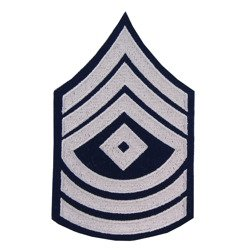 First Sergeant insignia - pair - repro