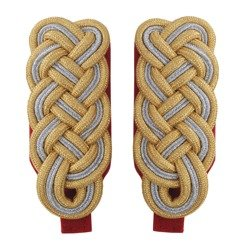 General shoulder boards - red piping - repro