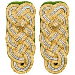 Generalleutnant der Polizei shoulder boards - repro