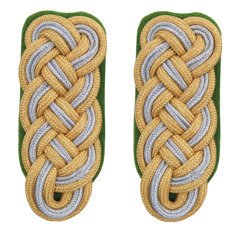 Generalmajor der Polizei shoulder boards - repro