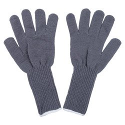 Gray woolen gloves - surplus