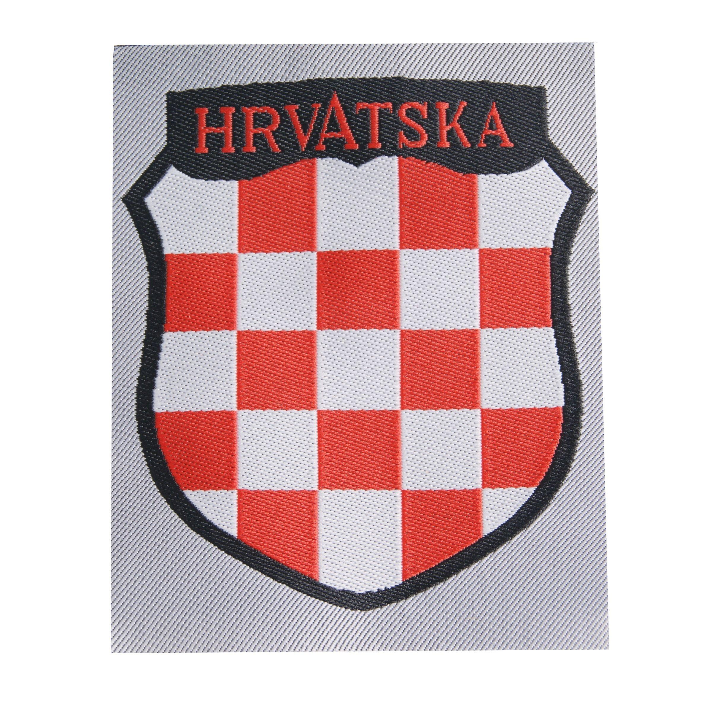 Hrvatska patch - BeVo - repro