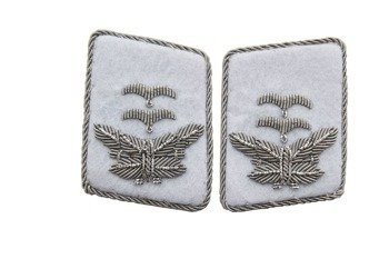 LW HG division Oberleutnant collar tabs - repro