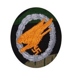 LW paratrooper patch - splittertarn camo - repro
