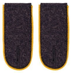 LW shoulder boards - flying personnel - yellow - repro