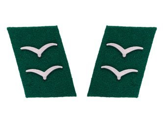 Luftwaffe collar tabs - field divisions, Gefreiter - repro