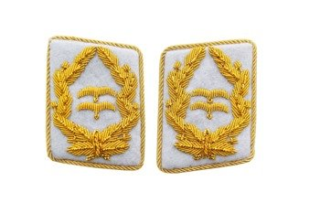 Luftwaffe general collar tabs - Generalleutnant