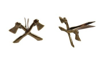 M1935 Pioneers emblem - pair - repro