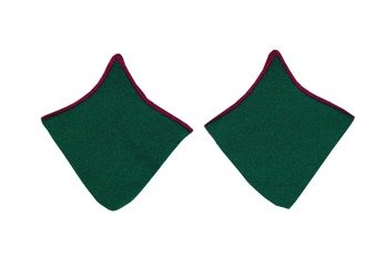 M1937 border guards collar tabs for greatcoat - repro