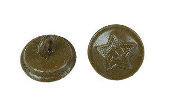 M1941 uniform button - khaki - surplus