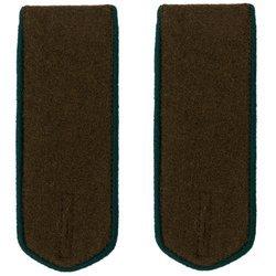 M1943 NKVD border guards field shoulder boards - repro