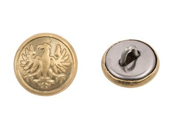 M1943 Polish LWP uniform button - small - 14 mm - repro