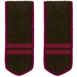 M1943 infantry field shoulder boards - mladshiy serzhant - repro