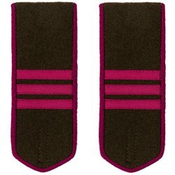 M1943 infantry field shoulder boards - serzhant - repro