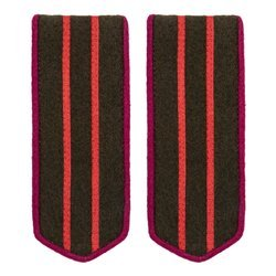 M1943 infantry high officers shoulder boards - repro
