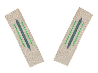 M35 Kragenspiegel - WH collar tabs for mountain troops - repro