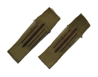 M38 Kragenspiegel - late-war unified WH collar tabs - beige - repro