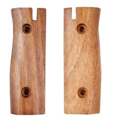 M84/98 Bayonet hand grips - wooden - repro