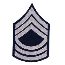 Master Sergeant insignia - pair - repro