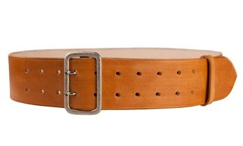 NSDAP Koppel - Party/paramiliitary officer belt - 6 cm wide - brown - repro