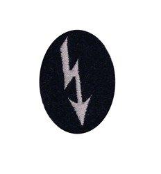 Nachrichtentruppen Abzeichen - signal troops sleeve patch - blue grey