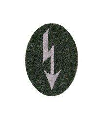 Nachrichtentruppen Abzeichen - signal troops sleeve patch - field grey