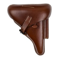 P08 Parabellum holster - brown - repro