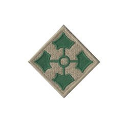 Patch of 4th Infantry Division - repro