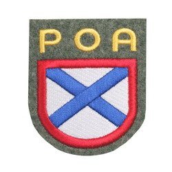 Russian Liberation Army patch - woolen - repro