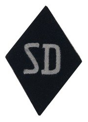 SD rhombus sleeve patch - EM/NCO version - repro