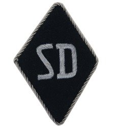 SD rhombus sleeve patch - officer version - repro