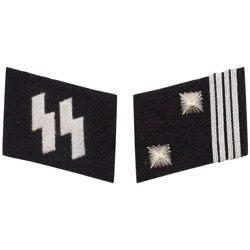 SS collar tabs - Sturmscharführer - repro