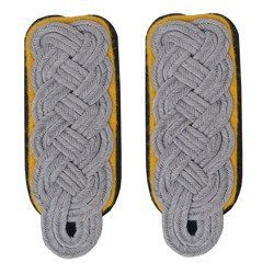 SS higher officer shoulder boards - cavalry, signal troops, propaganda
