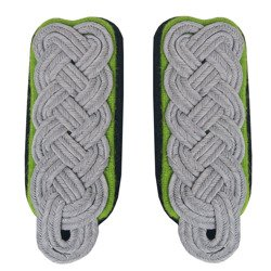 SS higher officer shoulder boards - mountain troops