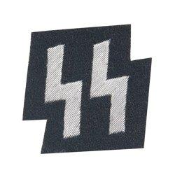 SS member runes pocket patch - black