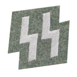 SS member runes pocket patch - feldgrau