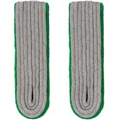 SS officer shoulder boards - mountain troops