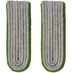 SchuPo Leutnant shoulder boards - repro