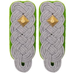 SchuPo Oberstleutnant shoulder boards - repro