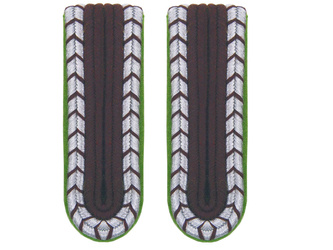 SchuPo Wachtmeister shoulder boards - repro