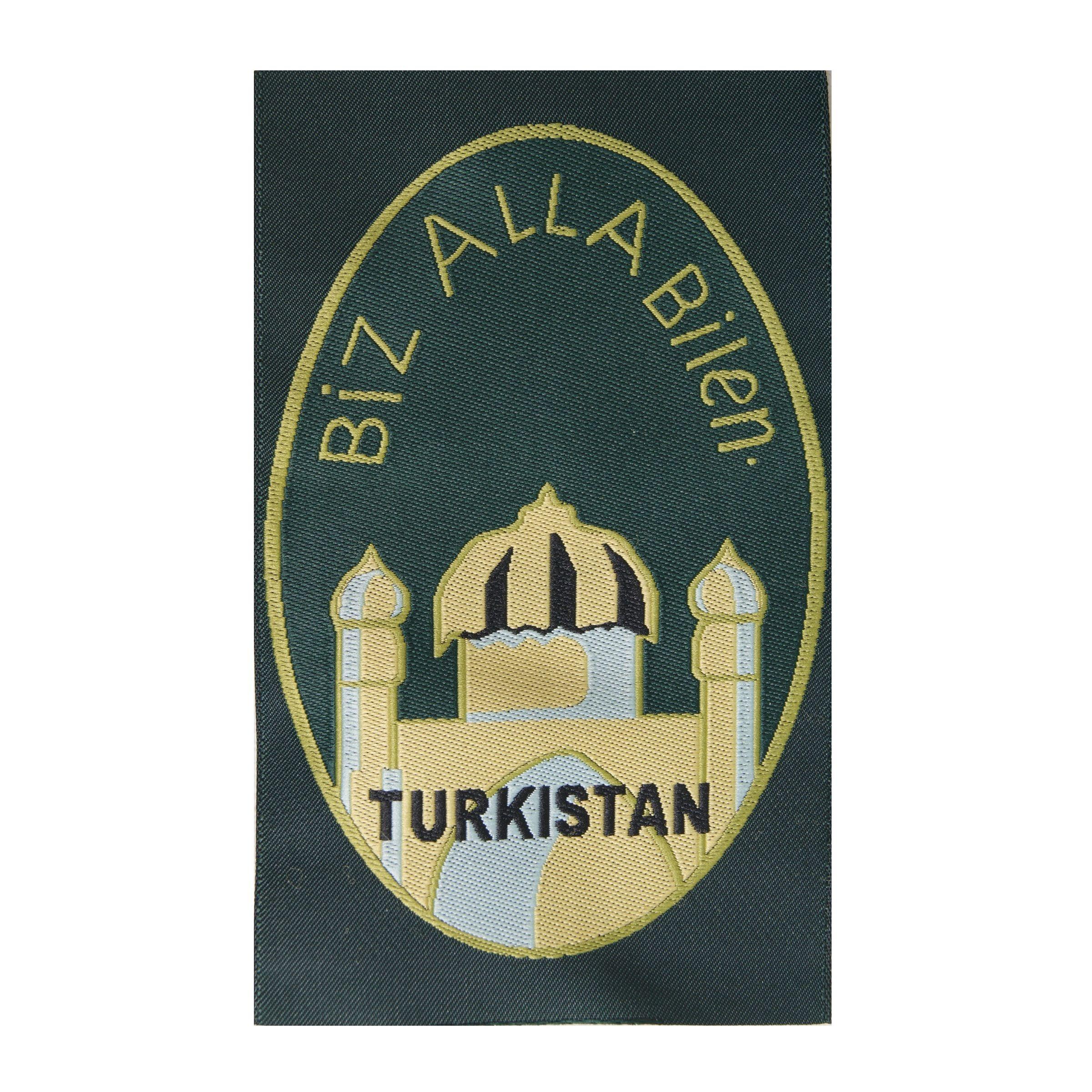 Turkistan - Biz Alla Bilen patch - BeVo - repro