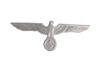 WH Adler - Wehrmacht Heer breast eagle - silver - repro
