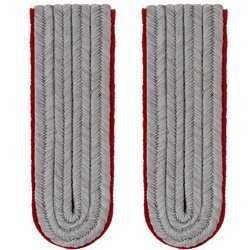 WH Officer shoulder boards - artillery