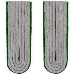 WH Officer shoulder boards - mountain troops