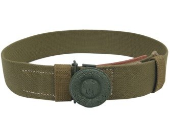 WH Officer tropical belt with buckle - repro