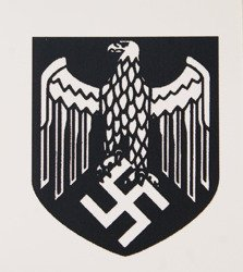WH eagle shield water decal - repro