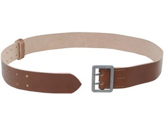 WH officer belt - brown - repro