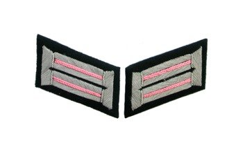 WH officer collar tabs - armoured